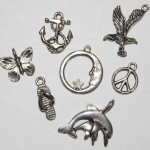 Base Metal Charms Group