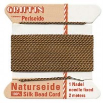 griffin silk cord #4 brown