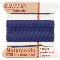 griffin silk cord #4 dark blue