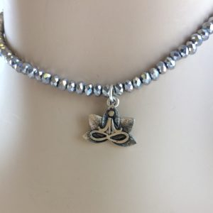silver-faceted-seed-bead-choker-yoga-lotus-charm