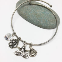 Meditation Bangle Bracelet