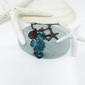 Seahorse Customized Necklace 2