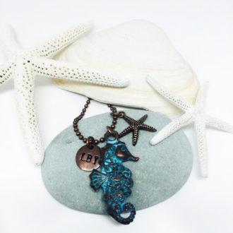 Seahorse Customized Necklace 3