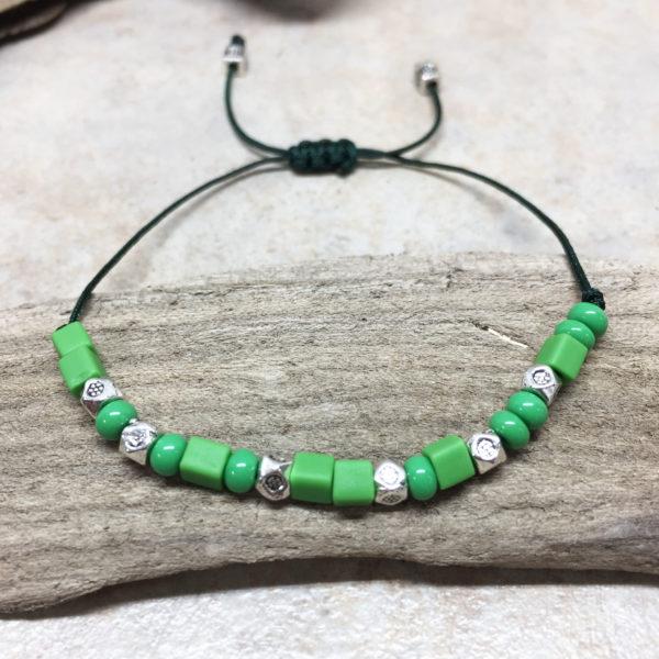 Morse Code Mermaid Adjustable Bracelet 2
