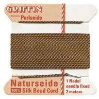 griffin silk cord #4 brown