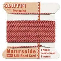 griffin silk cord #4 coral