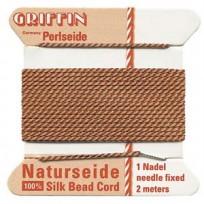 griffin silk cord #4 cornelian