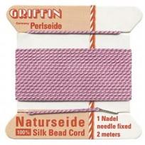 griffin silk cord #4 drk pink