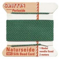 griffin silk cord #4 green