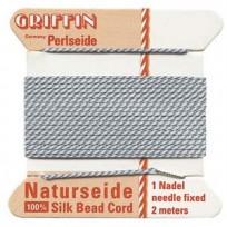 griffin silk cord #4 grey