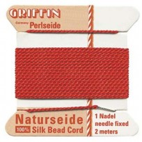 griffin silk cord #4 red