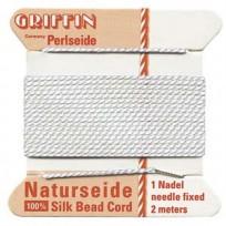 griffin silk cord #4 white