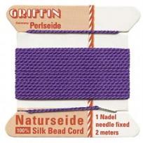 griffing silk cord #4 Amethyst