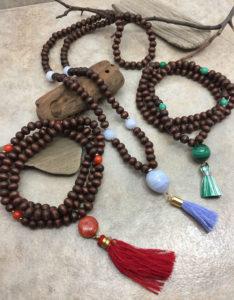 Mala Wood Bracelet