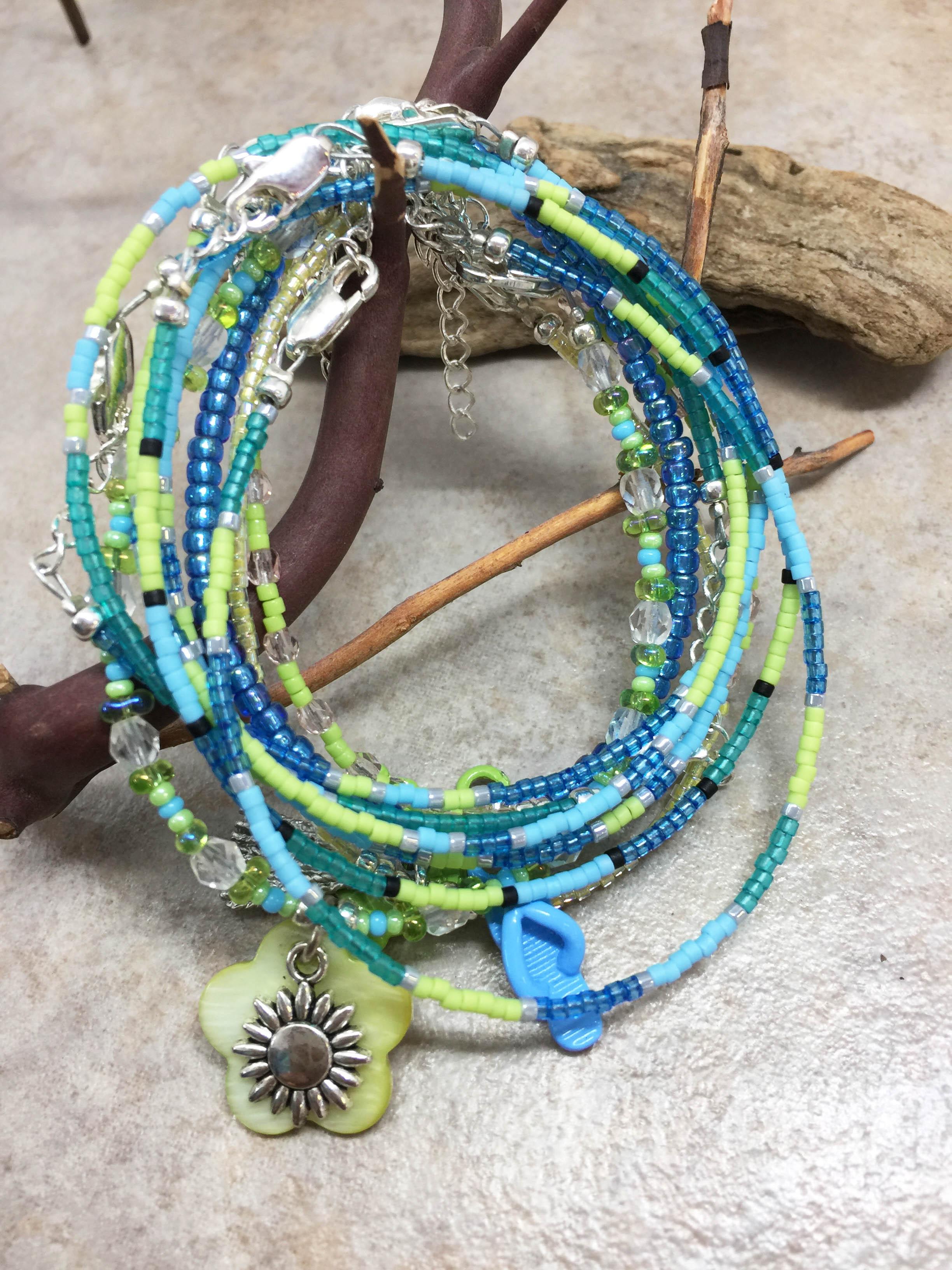 Seed Bead Bracelets