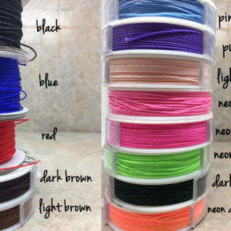 Chinese Knotting Cord Colors