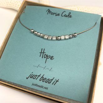 Morse Code Hope Necklace (1)