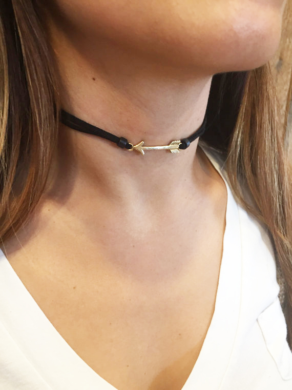 Simply Be Suede and Chain Chocker pWKwQSNJtS
