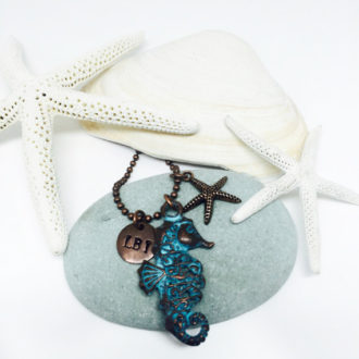 Seahorse Customized Necklace 3