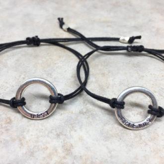 Best Friends Hand Stamped Bracelets 3