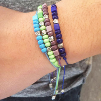 Morse Code Adjustable Custom Bracelets Lifestyle Stack