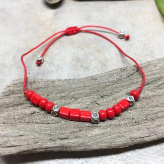 Morse Code Love Adjustable Bracelet 2