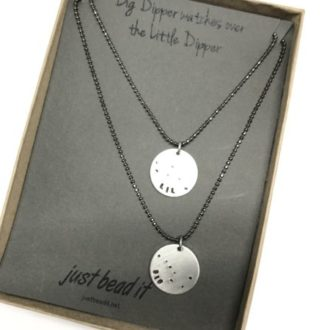 Big Dipper Little Dipper Necklace set