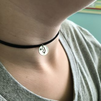 Choker state Necklace