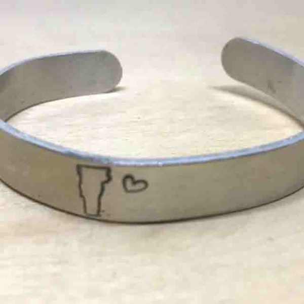 State Bracelet Cuff Personalized Home